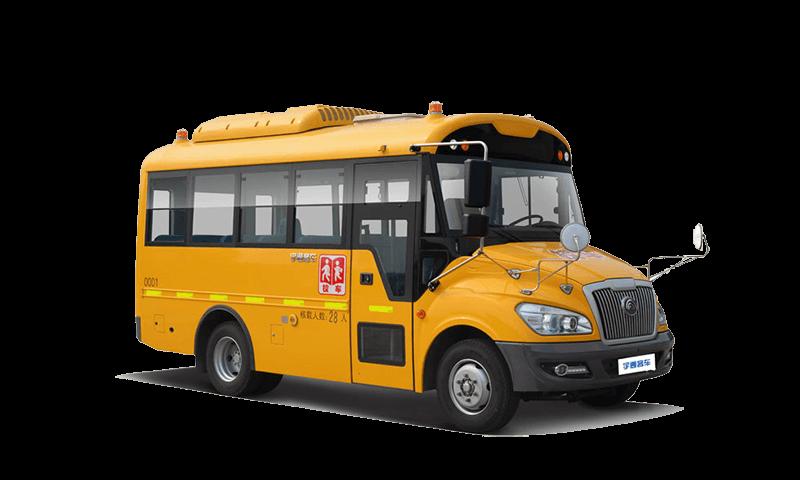 宇通牌ZK6609DX型幼儿专用校车
