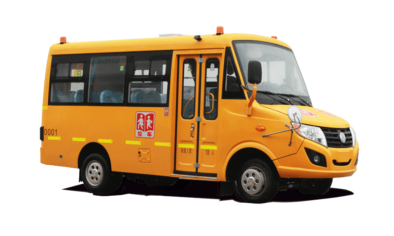 东风牌DFA6518型幼儿专用校车