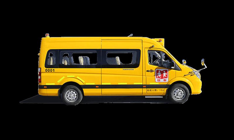 福田牌BJ6590型幼儿专用校车