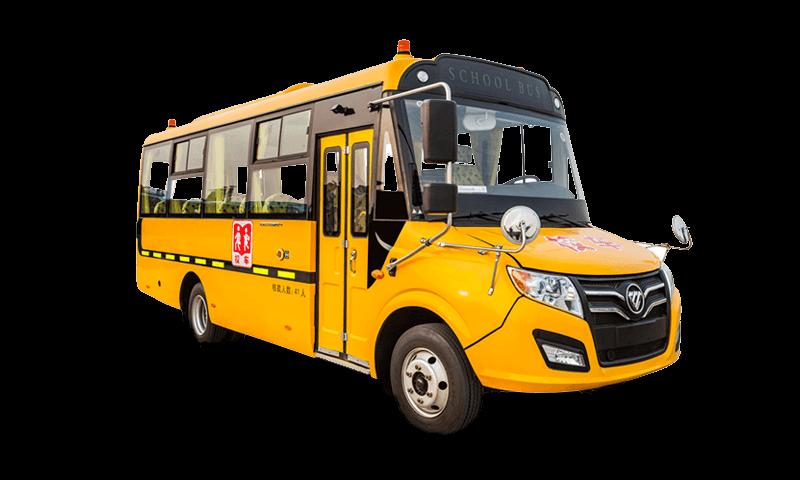 福田牌BJ6731型幼儿专用校车