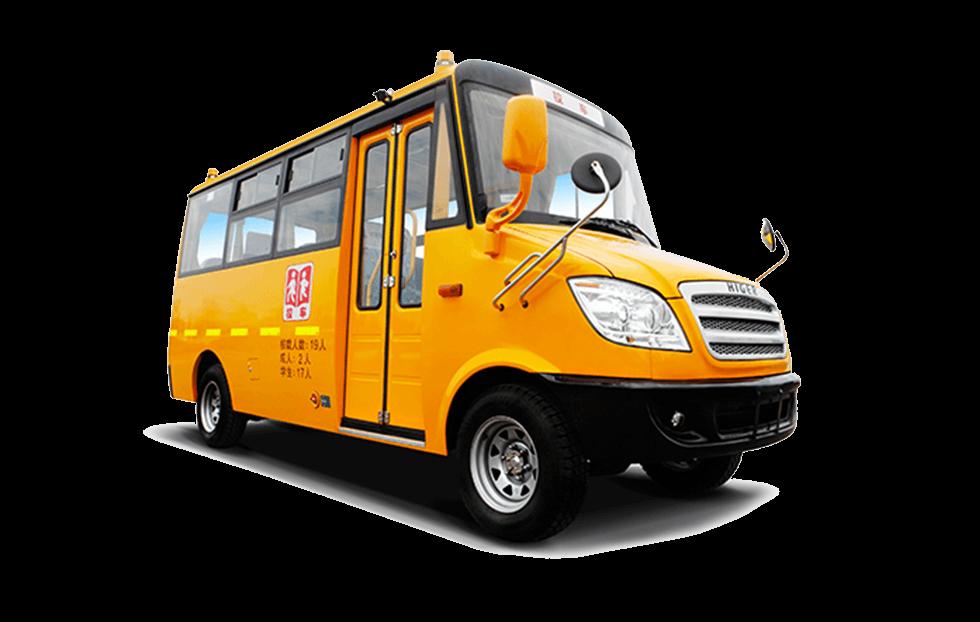 海格牌KLQ6539X型幼儿专用校车