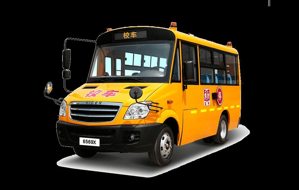 海格牌KLQ6569X型幼儿专用校车