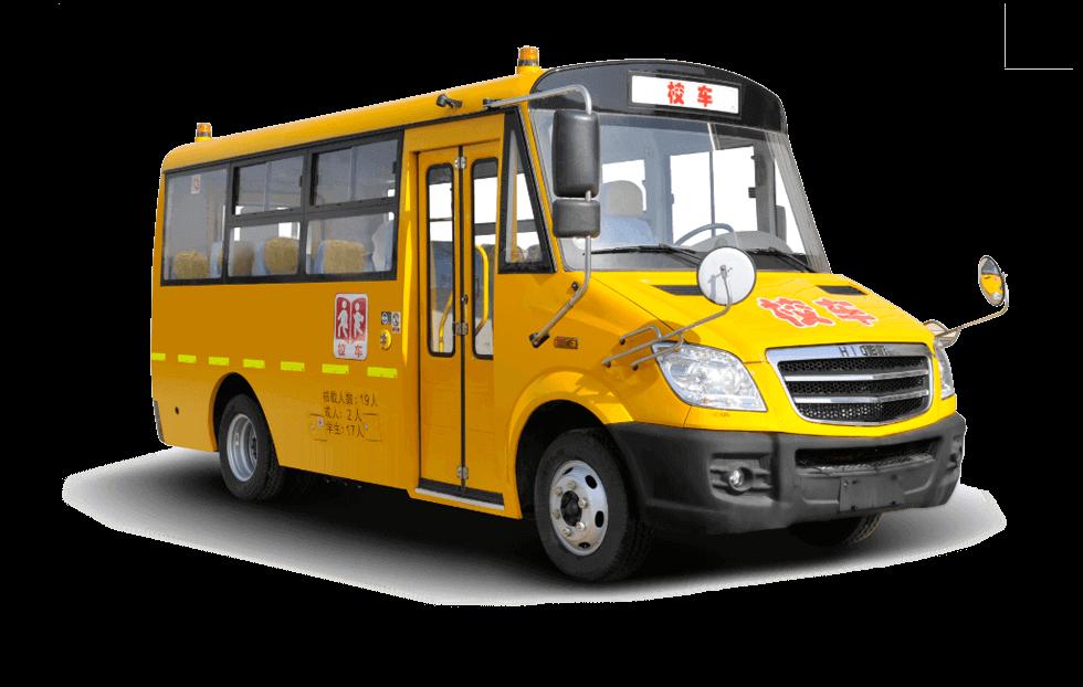海格牌KLQ6599X型专用校车