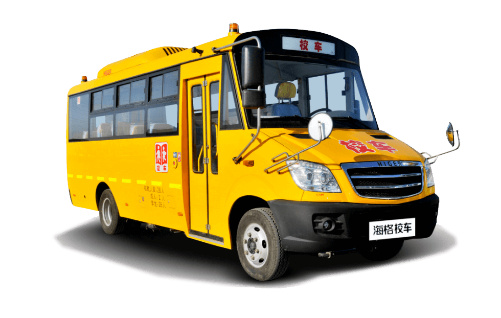 海格牌KLQ6709X型幼儿专用校车