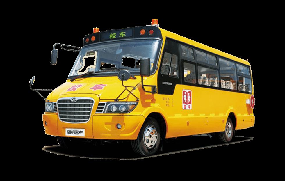 海格牌KLQ6756X型专用校车