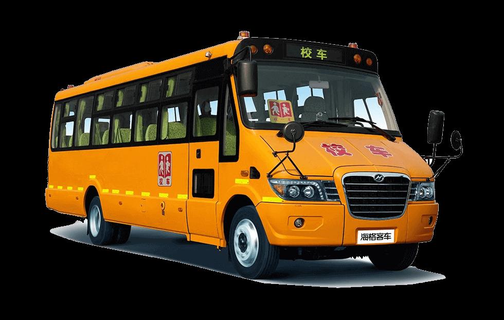 海格牌KLQ6896X型小学生专用校车