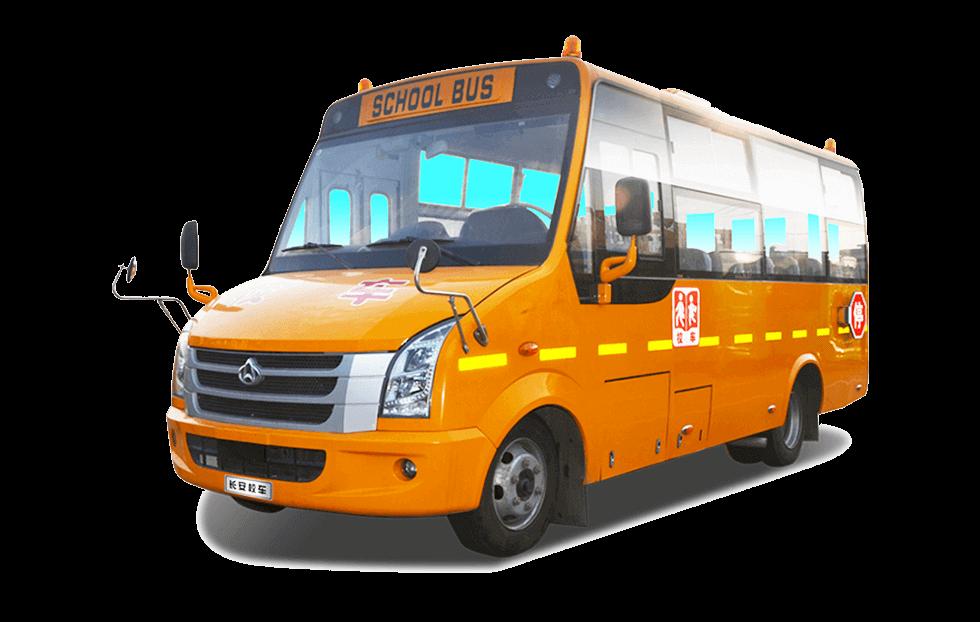 长安牌SC6685型小学生专用校车