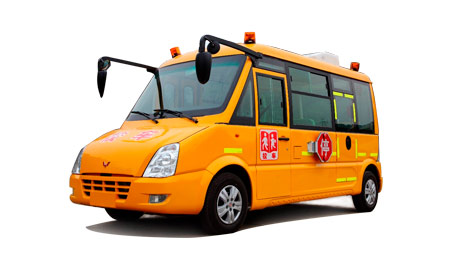 五菱10-19座五菱小学生专用校车