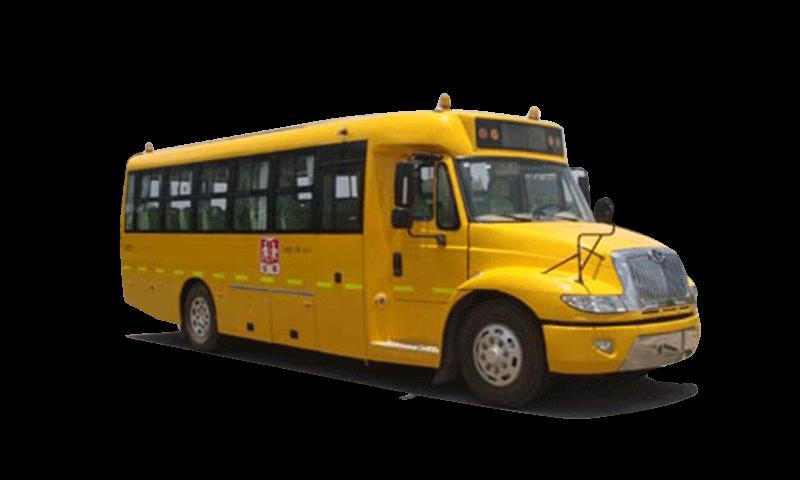 同心牌TX6100XF型小学生专用校车