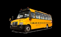 上饶牌SR6686DX型小学生专用校车
