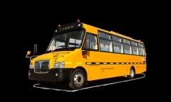 上饶牌SR6766DY型幼儿专用校车