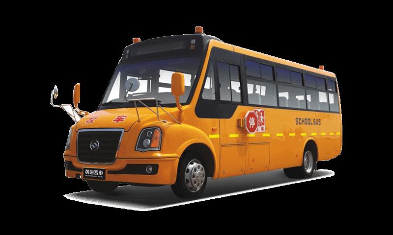 黄海牌DD6800C03FX型中小学生专用校车