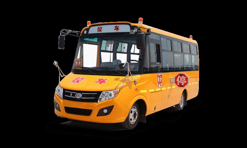 楚风牌HQG6580XC型幼儿专用校车