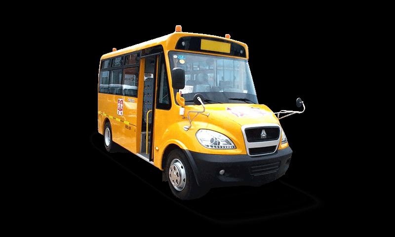 黄河牌JK6760DXAQ2型幼儿专用校车