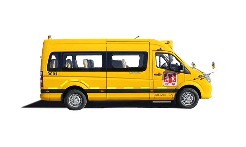 福田牌BJ6730S6MEB型小学生专用校车