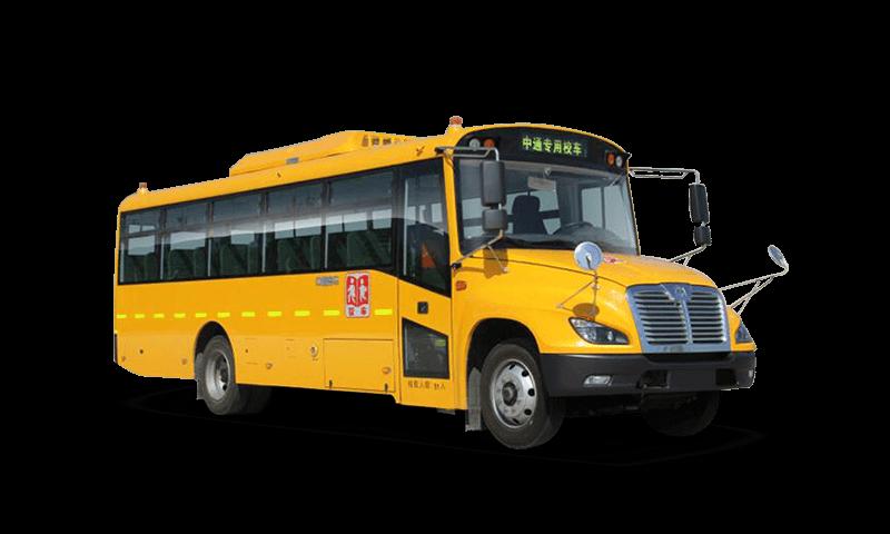 中通牌LCK6736DZX型中小学生专用校车