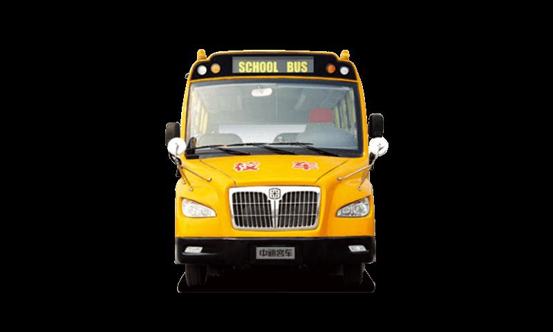 中通牌LCK6801DCX型小学生专用校车