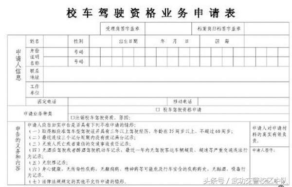 校车驾驶资格证办理流程