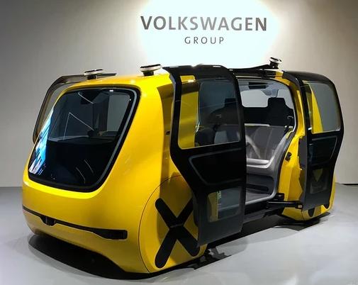2018日内瓦车展:大众自动驾驶校车发布